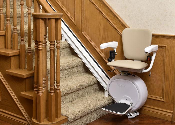 Différents monte escalier